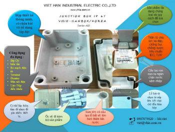 Hộp điện nhựa chống thấm ip67