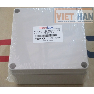 Hộp chống thấm IP67 HB-AGS-151507